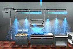 Alat Pemadam Kebakaran Otomatis Untuk Dapur