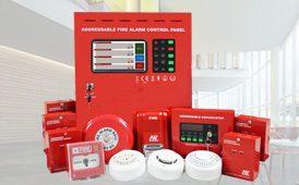 Fire Alarm System Semi Addressable