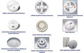 Jenis-jenis smoke detector