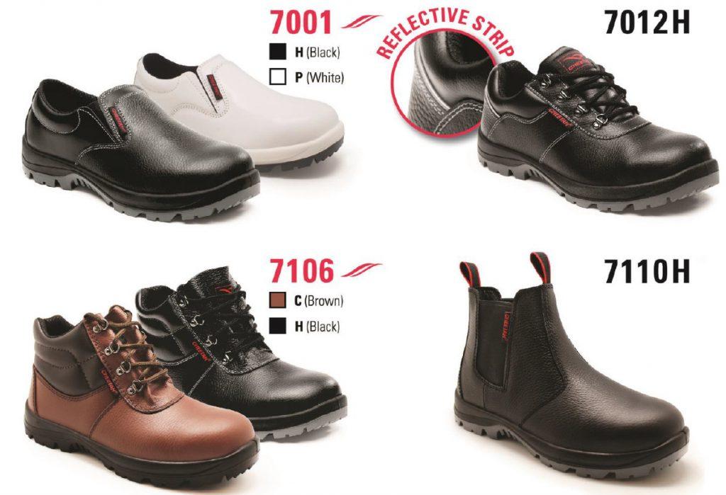 pricelist daftar harga sepatu safety dr. osha dan cheetah