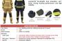 Pakaian kebakaran 93% Nomex (Meta-Aramid), 5% Kevlar (Para-Aramid) and 2% P140 (Anti-Static)